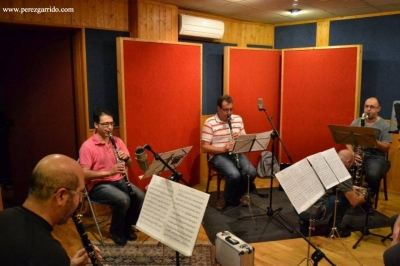 """Esencias 3"" Recording Session - ""Vert"" Clarinet Quartet"